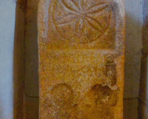Estela funeraria romana