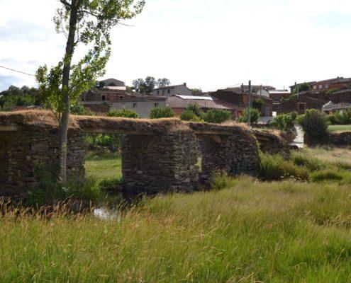 Puente de lascas, Fradellos